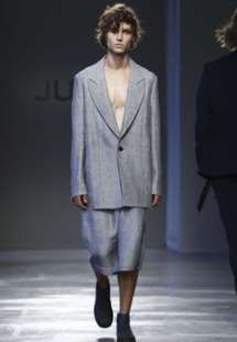 JUNLI Menswear Spring Summer 2017 Collection in Milan