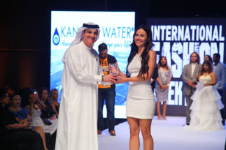 Best Fashion Designer Tech- Diana Walkiewicz Poland @ International Fashion Awards- IFWD S5