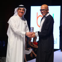 Best Fashion Icon 2017 Mr Derek Khan with Mr Yaqoob Ali at the International Fashion awards @ IFWD S5