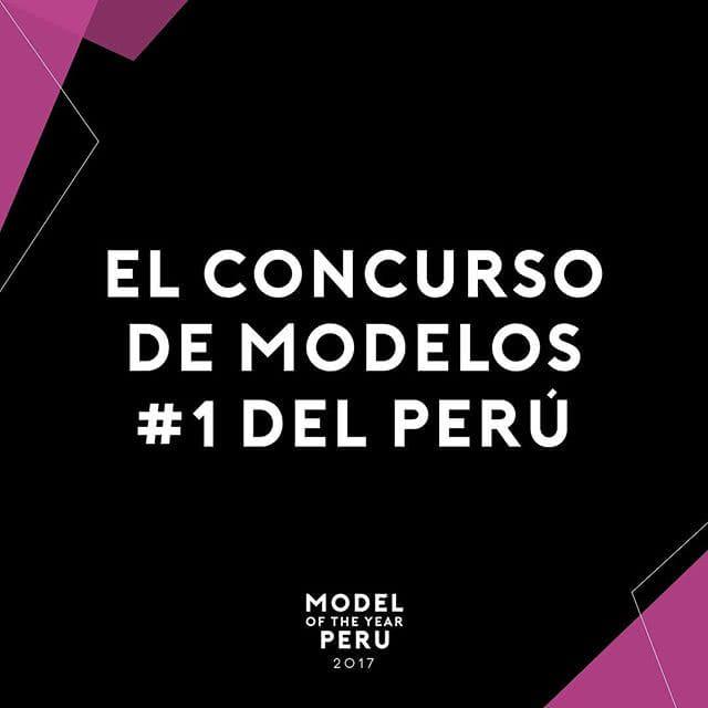 """Concurso """"Model of the Year"""" en Lima –Perú"""