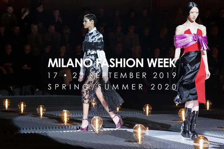 Milano Fashion Week Women S Spring Summer 2019 2020 Digital News Fashion