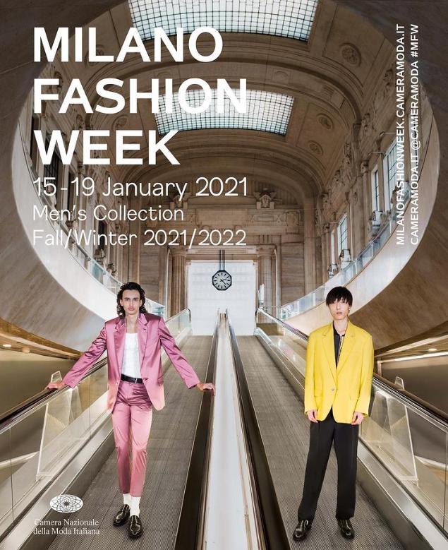 Milano Moda Uomo F/W 2021 • 10-14 January 2020